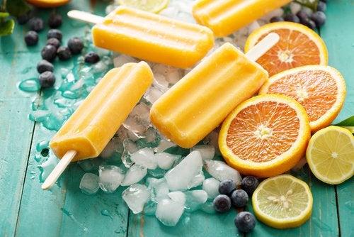 Polo de limón y cúrcuma