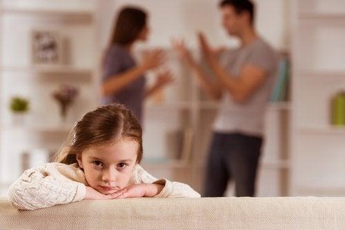 la separación y los hijos