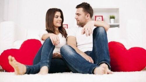 conversar honestamente con tu pareja