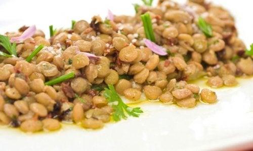 ensalada-de-lentejas legumbres