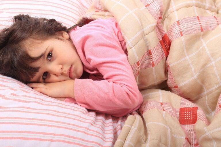Las causas del insomnio infantil