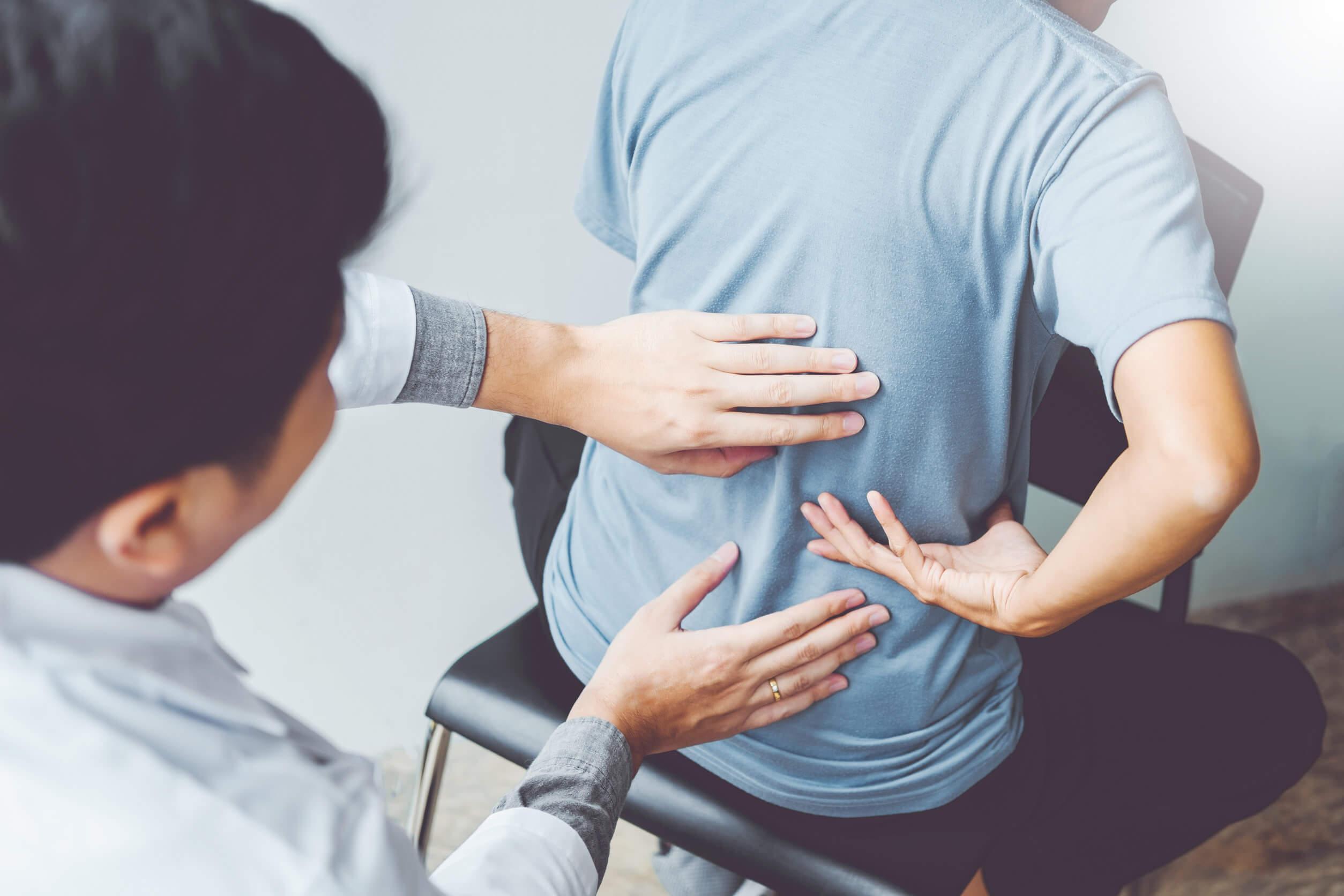 La relación entre la columna vertebral y los órganos