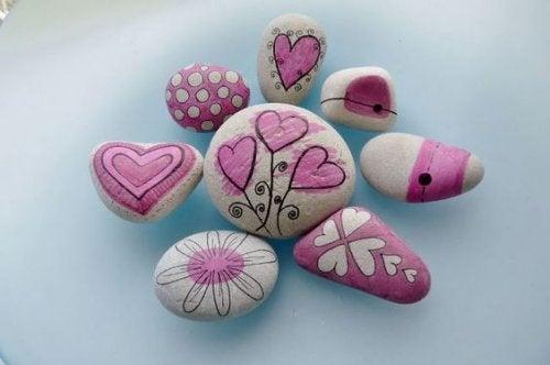 Arteterapia con piedras