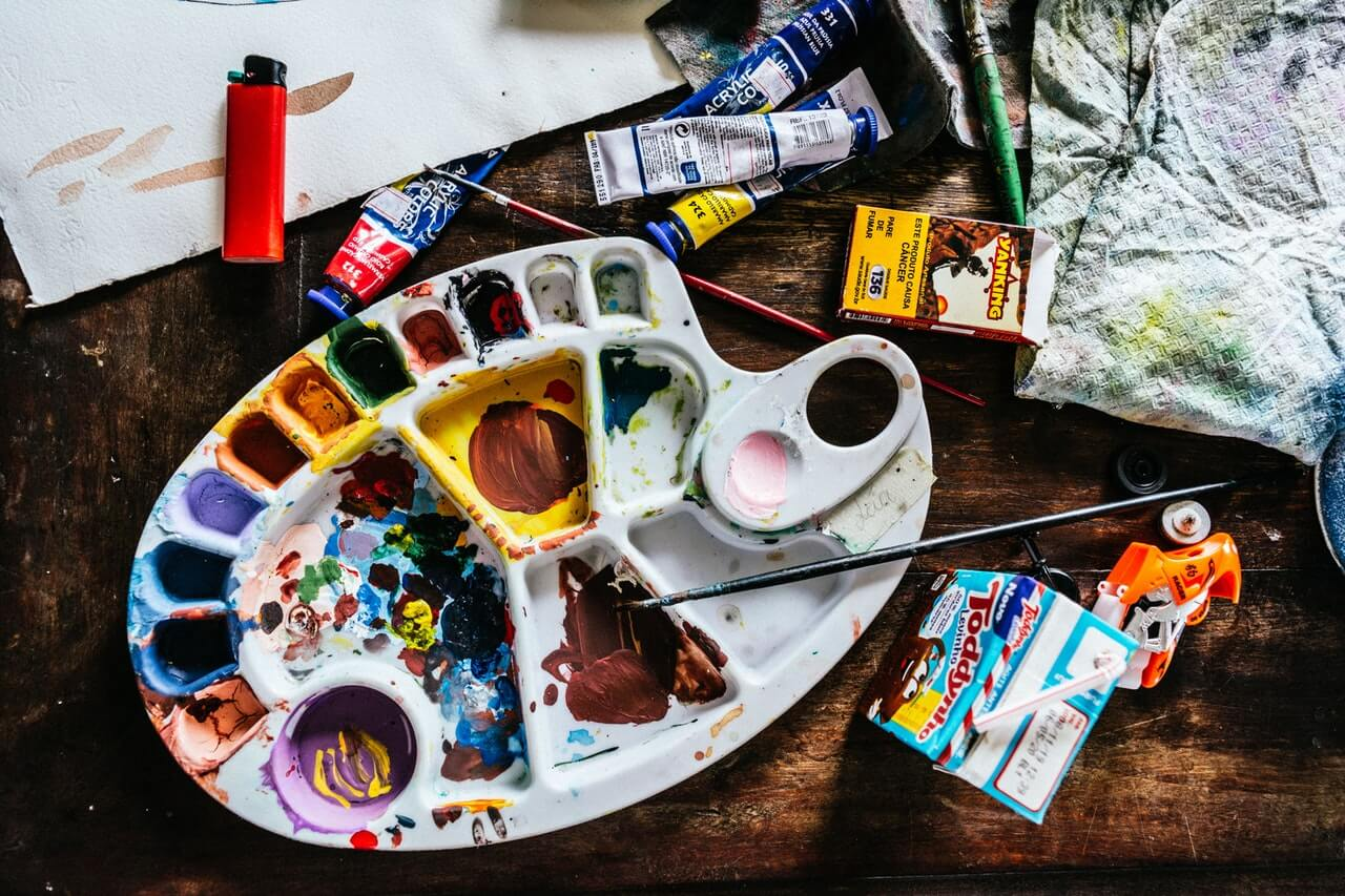 La arteterapia utiliza pintura