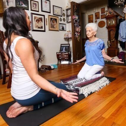 yoga en la adultez