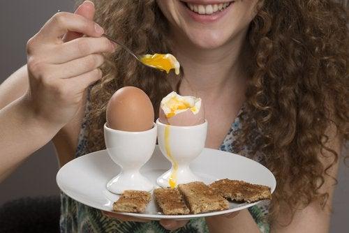 El huevo sacia el apetito