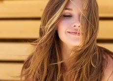 Para dejar el cabello suave y brilloso