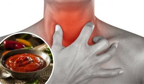 Si te duele la garganta no comas estos alimentos