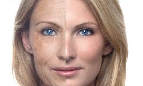 Las cremas ayudan a atenuar las arrugas en el rostro.