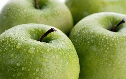 Manzana verde para controlar la taquicardia