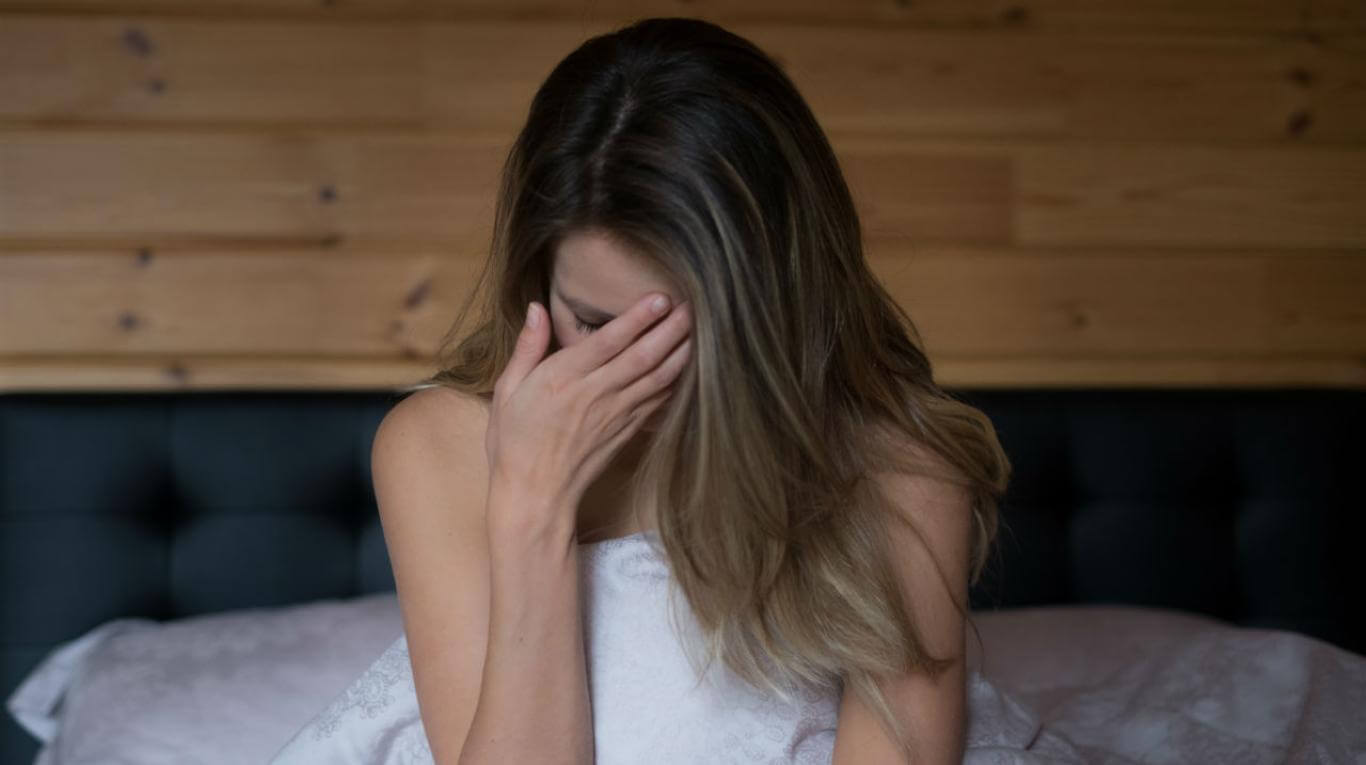 Mujer adicta al sexo