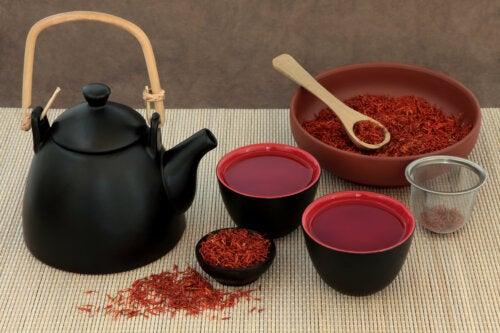 Té de azafrán: beneficios y preparación