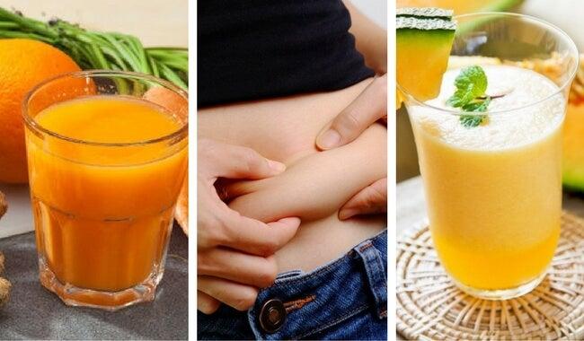 5 jugos para perder peso y mejorar tu sistema inmunitario