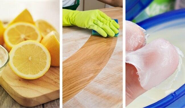 8 limpiadores caseros para la madera