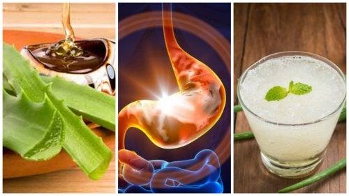 Combate los síntomas de la gastritis con este simple remedio natural
