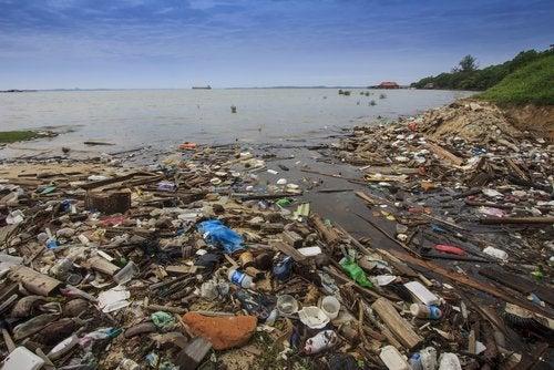 Contaminación ambiental del agua