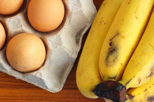 Crêpes de plátano