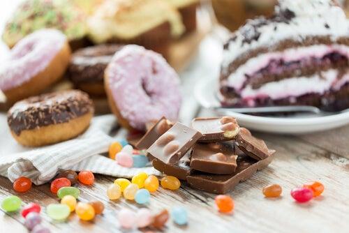 Evitar dulces contra la obesidad infantil.