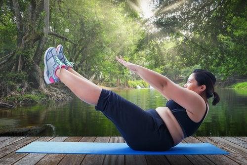 Realizar ejercicio físico es primordial para perder peso rápido