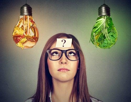 El cerebro escoge qué nutrientes necesita