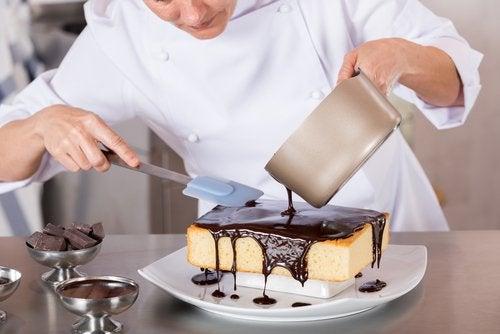 Choco-volcán, un delicioso postre de chocolate