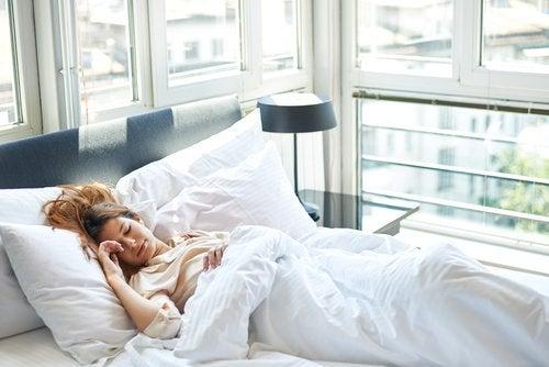 Recuperar horas de sueño atrasado
