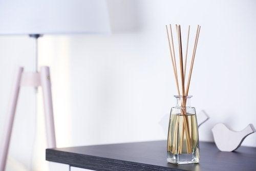 Varillas de rattan o bambú-aceites esenciales