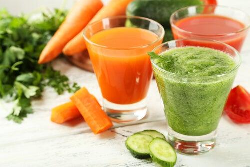 Beneficios de consumir verduras y frutas