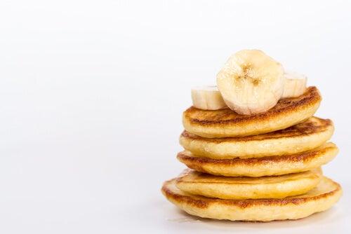 crepes de plátano