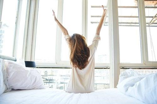 用能量喚醒一天