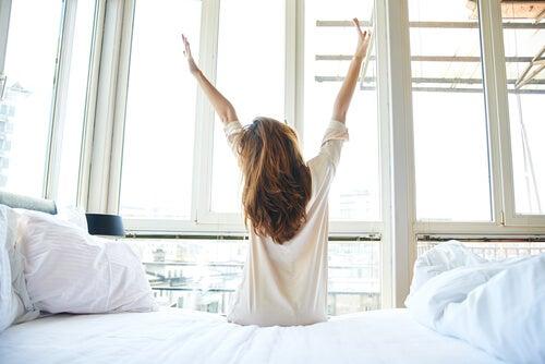 despertarnos con energía