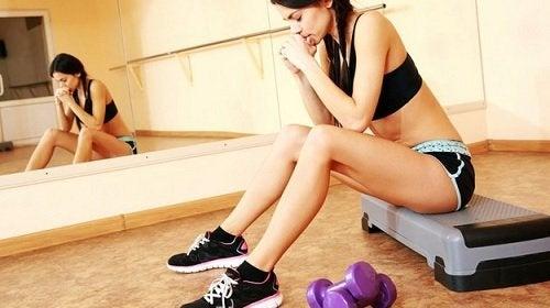 ejercicio incómodo