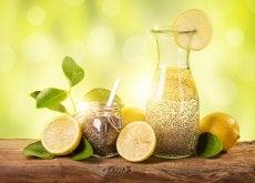 perder peso con limón y chía