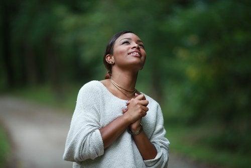 Ser agradecido nos da felicidad