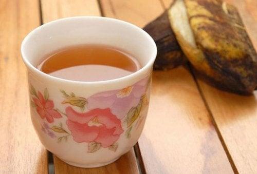 banana peel tea