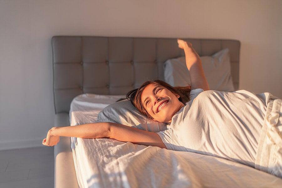 Despertar bien para tener un día feliz.
