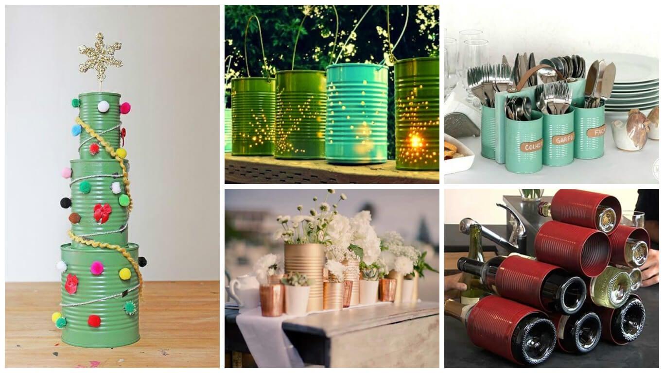 19 formas creativas de reciclar los envases de lata