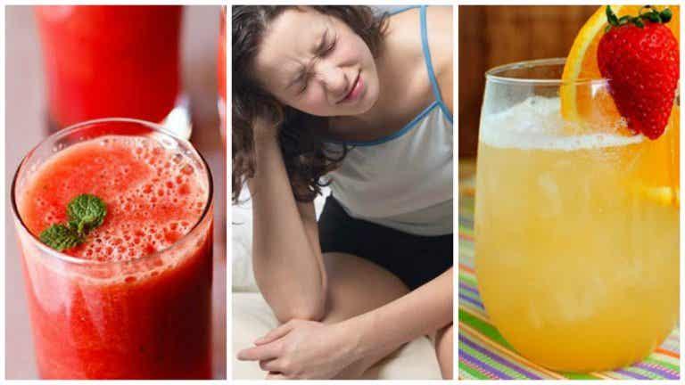 5 jugos naturales para los síntomas de la resaca