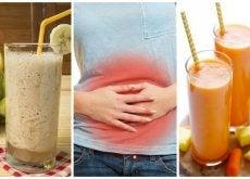 5 smoothies naturales para aliviar las digestiones lentas