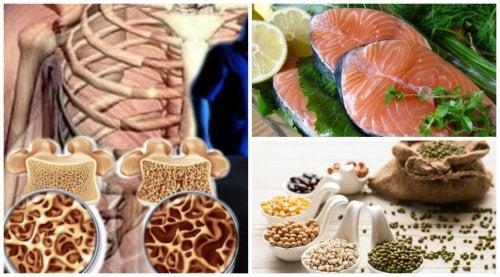6 alimentos para proteger tu densidad ósea al llegar a la menopausia