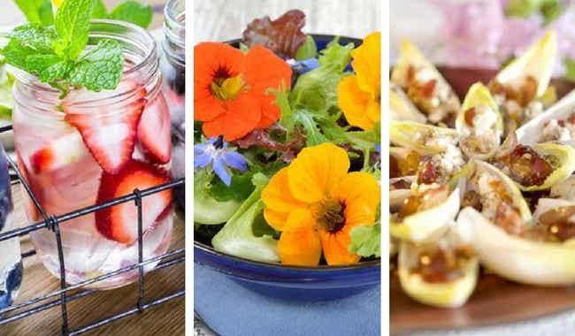 7 ideas sanas y ligeras para sorprender a tus invitados