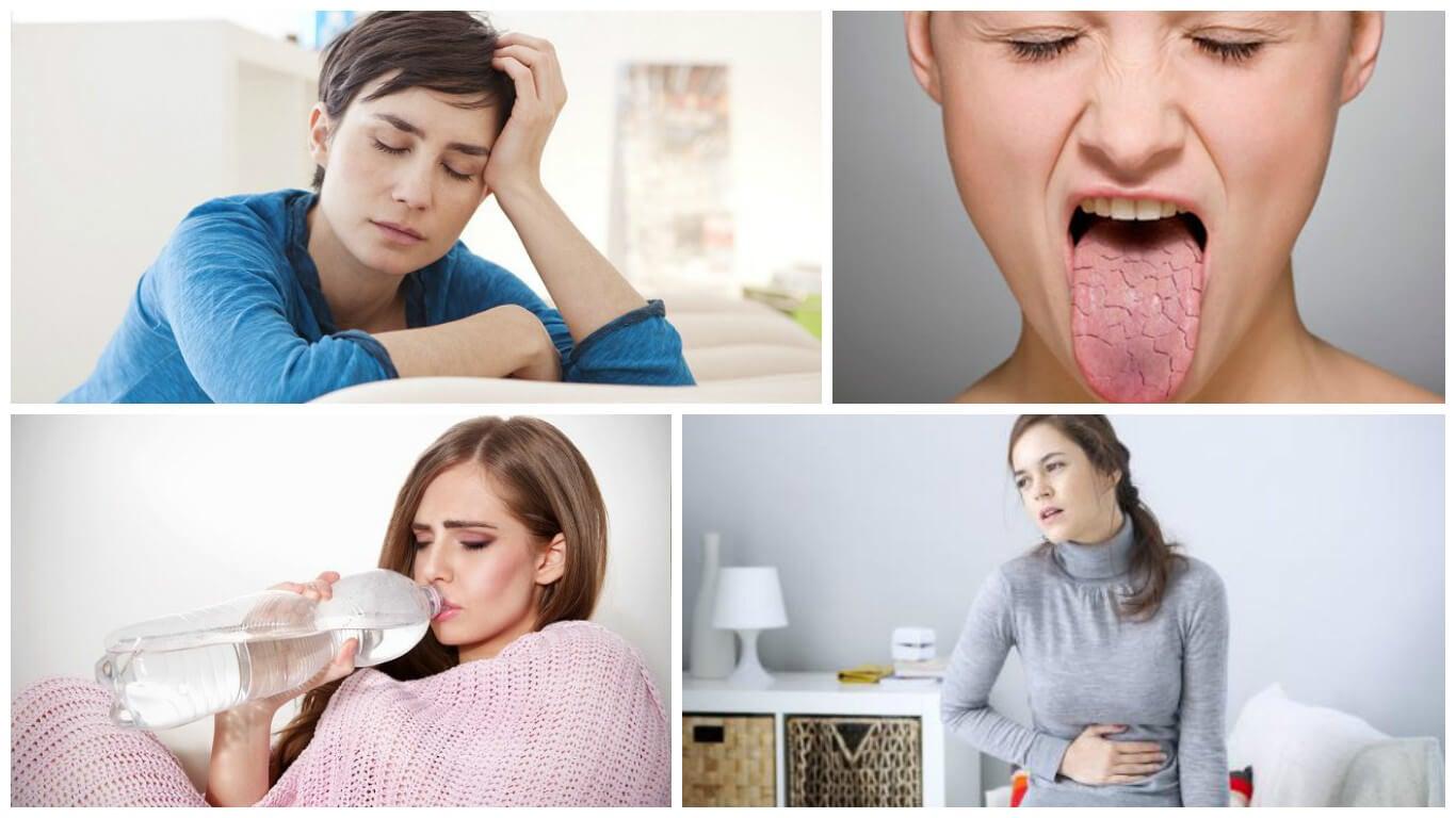 8 síntomas que te aquejan cuando no consumes suficiente agua
