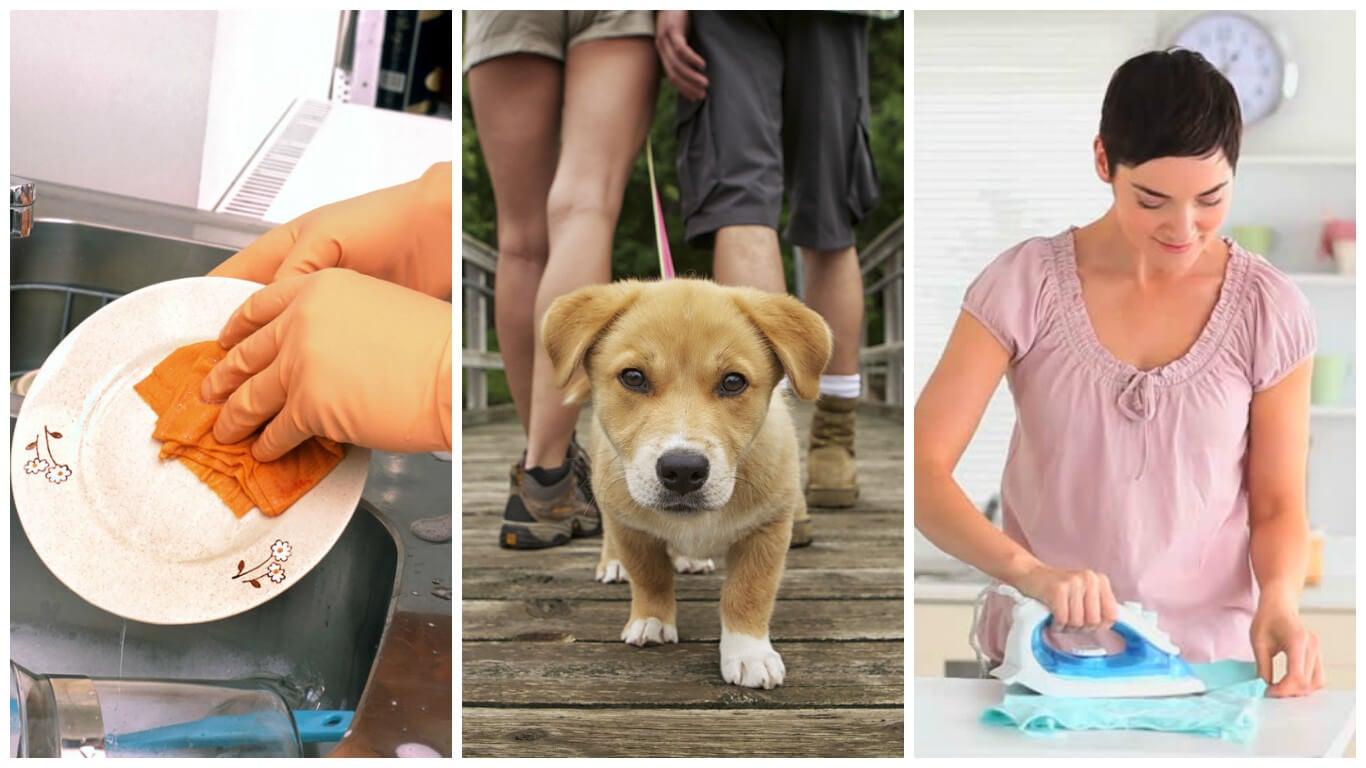 9 actividades cotidianas que te harán perder hasta 100 calorías cada una