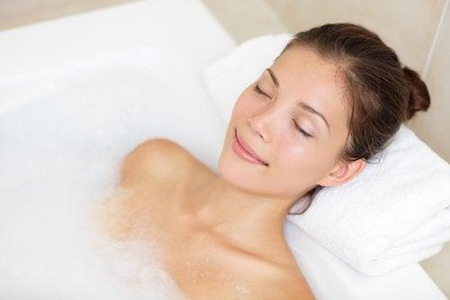 Bañera relajante