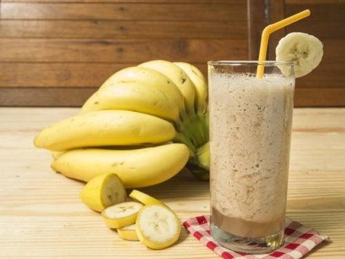 Batidos de banana
