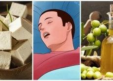 Combate los ronquidos consumiendo estos 7 alimentos
