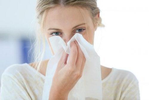 Congestion nasal en el embarazo