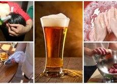Conoce los 9 usos alternativos de la cerveza en tu hogar