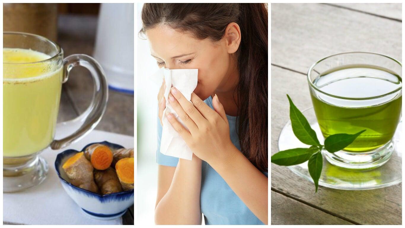 Los 6 mejores remedios caseros para combatir las alergias
