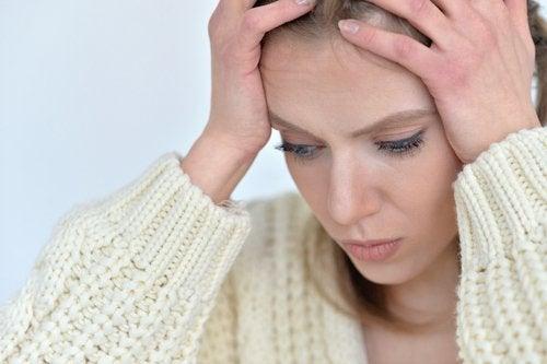 Tensión en cabeza y rostro por la ansiedad